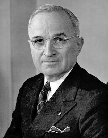 Truman war gegen den UN-Teilungsplan