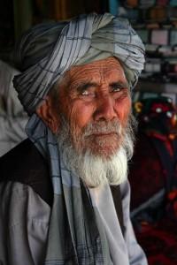 Dorfältester in Afghanistan