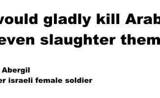 Ich würde gerne Araber abschlachten
