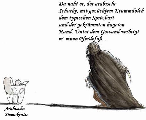 Der Araber als Karikatur