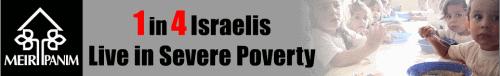 Armut in Israel