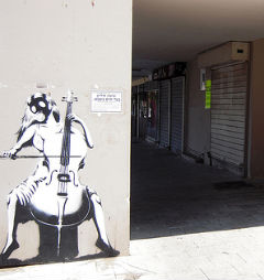 Graffity in Tel Aviv