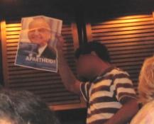 Wütender Protest gegen Zoabi