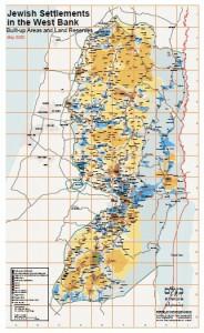 Jüdische Siedlungen Westbank