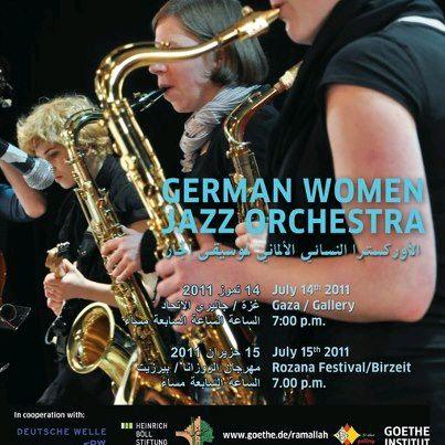 Jazz Veranstaltung Gaza