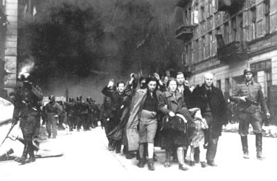 Warschauer Ghetto: Abtransport