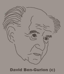 Staatsgründer Ben-Gurion