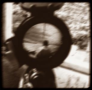 Im Fadenkreuz des Scharfschützen