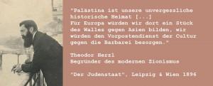 Herzl: Vorhut gegen die Barbaren Asiens