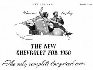 Chevrolet Werbung 1935