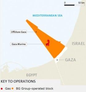 Gasfelder Palästina