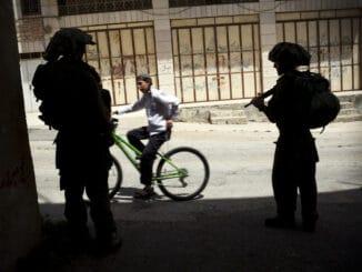 Jüdische Siedler in Hebron