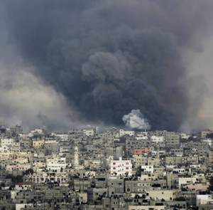 Schwere Explosion in Gaza