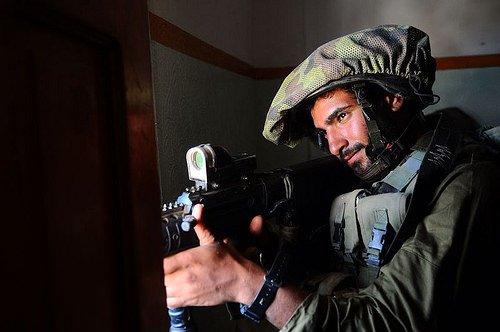 Soldat der IDF in Gaza