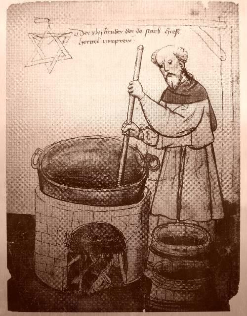 Reinheitssymbol beim Bierbrauen
