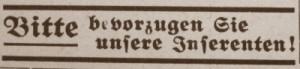 Kaufaufforderung im NS Amtsblatt