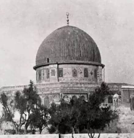 Felsendom Jerusalem 1900