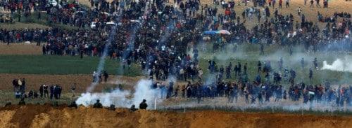 Proteste in Gaza gegen die Besatzung