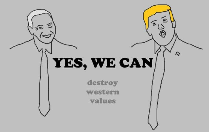 YES WE CAN nach Trump & Netanjahu...