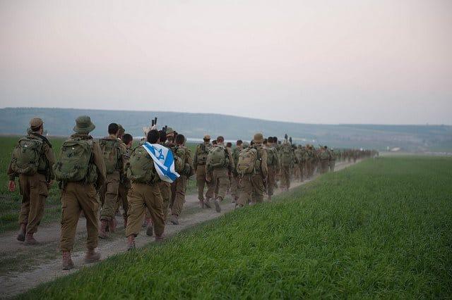 Übung israelische Armee