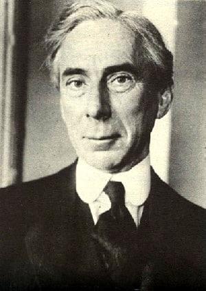 Philosoph Bertrand Russell über die Vertreibung der Palästinenser