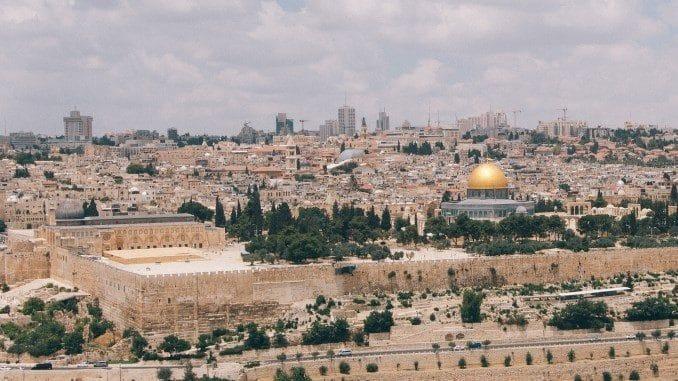 Jerusalem - Blick vom Ölberg