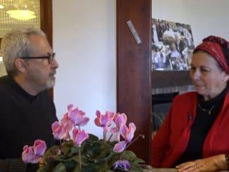 Bradley Burston im Gespräch mit Daniella Weiss