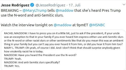 Donald Trump antisemitisch