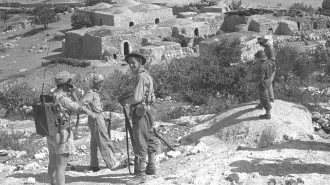 Vertreibung der Palästinenser